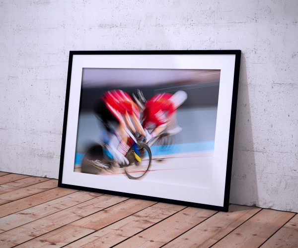 fotografie art wall poster cycling gudok kunst schilderij afdruk